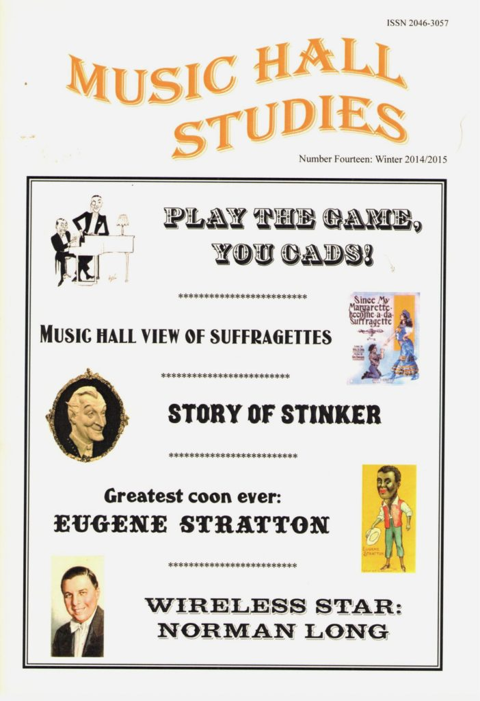 Music Hall Studies Issue 14